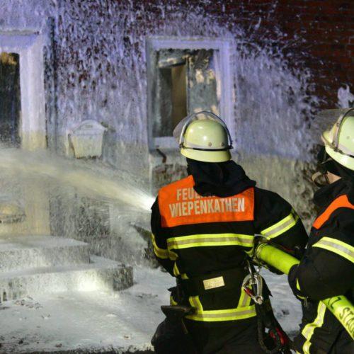 Wohnhausbrand am 9. Februar 2018