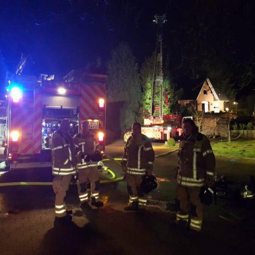 Wohnhausbrand am Schwarzen Berg