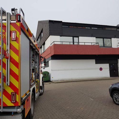 Rauchmelder-Auslösung in Wohn- und Geschäftshaus
